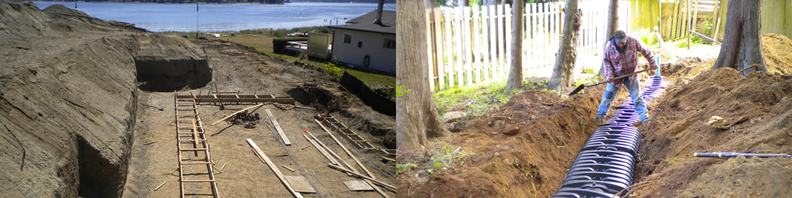 Services steve kelly construction excavation and for Septic design kitsap county